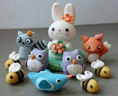Adorable critters by Oh Cuddles via Flickr.