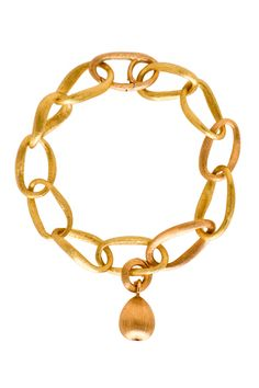 Ole Lynggaard Copenhagen Medium Love Bracelet with Sweet Drop Charm LaPrendo