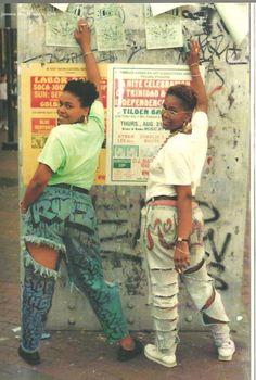 The jeans! (Ph: Jamel Shabazz)
