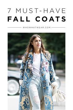 The best coats of fall