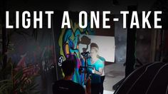 How to LIGHT a ONE-TAKE in 5 Minutes
