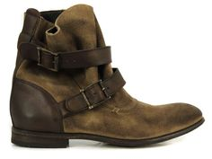 Sale - H by Hudson Starley Beige Suede Boots at Coggles.com online store