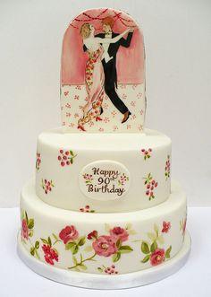 90 cake by Nevie-PieCakes, via Flickr