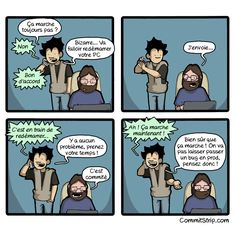 CommitStrip - SAV   Our coder's life - Part 13