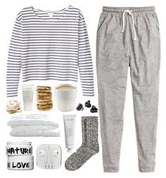 """""""Untitled #69"""" by veronika-m ❤ liked on Polyvore featuring H&M, Crate and Barrel, Nature Girl, Green & Spring, Byredo, Eva Solo and Monki"""