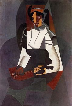 TICMUSart: Woman with a Mandolin (after Corot) - Juan Gris (1... (I.M.)