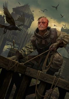 Name: Keaton Riggs. Race: Human. Nationality: Rehnessian (Cyltic) Birth-nation: Rehnesse (Cylti province). Age: 28. Occupation: Executioner and Carpenter in the town of Helen's Court. Personality: Kind, Reserved, Sorrowful, and Self-sacrificing.