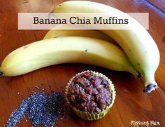 Aspiring Mum: Banana Chia Muffins