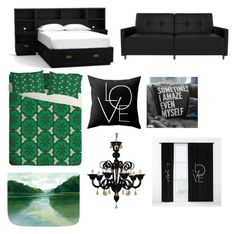 """""""My ideal bedroom"""" by aurora-agrest on Polyvore featuring interior, interiors, interior design, home, home decor, interior decorating, PBteen and bedroom"""