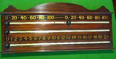 billiards scoreboard