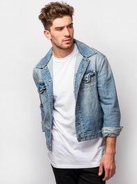 Alexander McQueen Denim Jacket by Alexander McQueen - ShopKitson.com