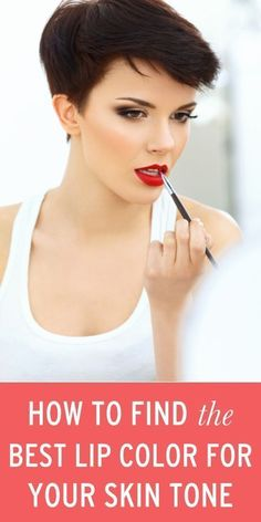 How to find the best lip color for your skin tone*
