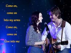 Garrett Hedlund & Leighton Meester                              ~Give In To Me~                                                          (from the movie Country Strong)