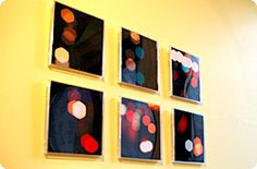 CD Jewelcase Wall Art Display - Reuse / Recycle!