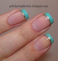 Peach Macarons: Beauty Box: The Art of Nails