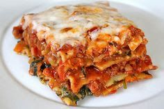 Clear Eyes, Healthy Heart, Can't lose: 21 day fix Lasagna