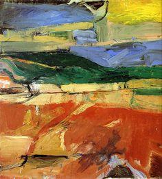 Richard Diebenkorn - 'Berkeley Series' #32 1955