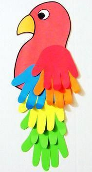 Fun Crafts For Family - DIY Crafts Wood Farmhouse Style - Arts And Crafts For Toddlers - Sunday School Crafts For Kids Adam Eve - Recycled Crafts Projects Vbs Crafts, Daycare Crafts, Preschool Crafts, Jungle Crafts, Blue Crafts, Children's Arts And Crafts, Preschool Jungle, Pirate Crafts, Magic Crafts