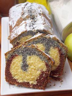 Szefowa w swojej kuchni. ;-): Trójkolorowa babka Polish Desserts, Polish Recipes, Sweet Desserts, Sweet Recipes, Baking Recipes, Cake Recipes, Sandwich Cake, Love Cake, Sweet Cakes