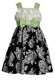 Bonnie Jean® Rose Print Dress Girls 4-6x