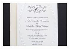 FREE monogram invitation set from Wedding Chicks. This set includes the invitation, RSVP card, menu, and table number. All you have to do is select the colors you want and the text and you're ready to go! Save it as a .png or .bmp and either print yourself or have a professional print it for you.