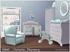 Sims 4 CC's - The Best: Nursery Room by Severinka