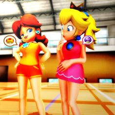 Daisy: You Don't even have to say anything, Peachy. I know how jealous you are right now. I can practically see your very eyes turning into A shade of g. Different Type of Growth Mario Princess Daisy, Super Mario Princess, Nintendo Princess, Princess Zelda, Super Mario Brothers, Super Mario Bros, Princesa Daisy, Luigi And Daisy, Paper Mario
