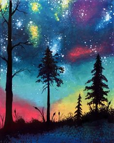 What A Colorful World at CowBoy Jack's St.Cloud - Paint Nite Events near St.Cloud, MN