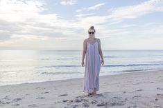 Vacationing along in the the most comfortable linen maxi dress! #linen #maxidress #tjmaxx
