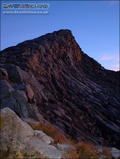 Rubbly peaks at the early dawn. Mount Kinabalu, Sea Level, Borneo, Natural World, Dawn, Tropical, Places, Water, Outdoor