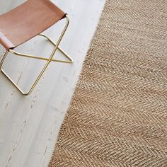 Our textural Serengeti Weave rug in Natural & Ivory. Handcrafted from sturdy hemp | armadillo-co.com