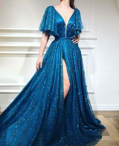 A-line Floor-length Sequined Prom Dress, Unique Sweetheart Long Prom Dresses - Style Evening Dresses Unique Prom Dresses, Pretty Dresses, Affordable Dresses, Elegant Dresses, Wedding Dresses, Beautiful Gowns, Dream Dress, Ball Gowns, Evening Dresses