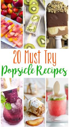 These popsicle recipes are not your standard playground popsicles! They are grown up, gourmet and full of creative flavor combinations. They make the perfect summer treat!