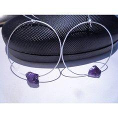 Hoop earrings, Sterling silver hoop earrings,Amethyst gemstone hoop... (€29) ❤ liked on Polyvore featuring jewelry, earrings, amethyst jewelry, gemstone earrings, sterling silver amethyst jewelry, sterling silver amethyst earrings and sterling silver gemstone jewelry Amethyst Jewelry, Amethyst Earrings, Amethyst Gemstone, Gemstone Jewelry, Sterling Silver Hoops, Sterling Silver Earrings, Gemstones, Shopping Mall, Handmade Art