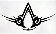 want this as a sternum tat. Or at least something that has something to do with assassins creed. Tatuajes Assassins Creed, Assassins Creed Tattoo, Assassins Creed Memes, Wolf Tattoos, Body Art Tattoos, Tribal Tattoos, Tatoos, Hand Tattoos, Tattoo Set