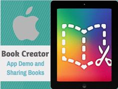 Learn how to use one of the BEST iPad apps, the app Book Creator, to make simple books to share with students. You can also have students make books to share with you! This app is easy to use and the finished media-rich books created are excellent! Also included are the various workflows that can be used to share these amazing books.