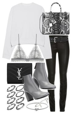 """""""Untitled #19582"""" by florencia95 ❤ liked on Polyvore featuring Linea Pelle, Acne Studios, Yves Saint Laurent, STELLA McCARTNEY, Michael Kors, French Connection, women's clothing, women, female and woman"""