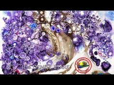 Art tips on How to Paint Fantasy in Acrylics with Jen Denise Stark on Colour In Your Life - YouTube