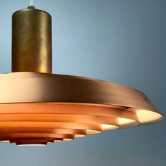 Beautiful Copper Plate lamp by Poul Henningsen for Louis Poulsen