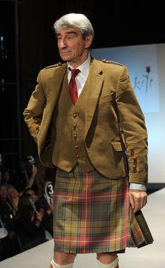 One very handsome man in a kilt! Scotland Kilt, Glasgow Scotland, Tartan Kilt, Tartan Men, Celebrity Bodies, Men In Kilts, Kilt Men, Scottish Clans, Scottish Kilts