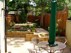 Shady Low Maintenance Garden on Two Levels Tim Mackley Garden Design London SE22