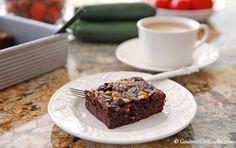 Gourmet Girl Cooks: Chocolate Zucchini Walnut Cake - Low Carb & Grain ...