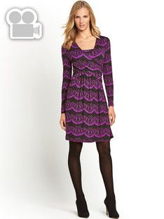 joe-browns-lace-print-jersey-dress