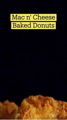 Fun Baking Recipes, Snack Recipes, Cooking Recipes, Snacks, Tastemade Recipes, Baked Donuts, Food Cravings, Creative Food, Diy Food