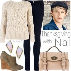 Niall needs to date an American just so he can experience Thanksgiving. He'd love it!