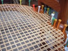 Wicker Works - - - chair caning - - - how to.