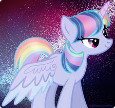 So this is supposed to be a rainbowlight ship, if ur gonna make a princess make one with a good back story with NO OTHER princesses from the show.and they can't be related.this picture should never exist.I don't care if I lose followers this is the truth.