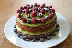 Great Vegan Bake-Off 2015 Finalist Julie's chocolate cake with avocado frosting from Veggiephile.  #vegan #veganbaking #veganrecipes