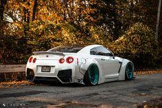 #Nissan #GTR_R35 #Modified #WideBody #Slammed #Stance #JDM