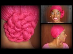 SISI YEMMIE ~ HEAD WRAP / HEAD SCARF TUTORIAL! obviously would need more to be  a good Hijab, but this might be a good wrap on top of an amira....